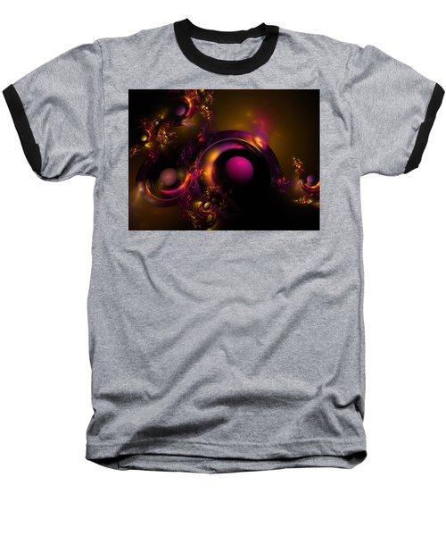 Curvy Baby Baseball T-Shirt by Lyle Hatch
