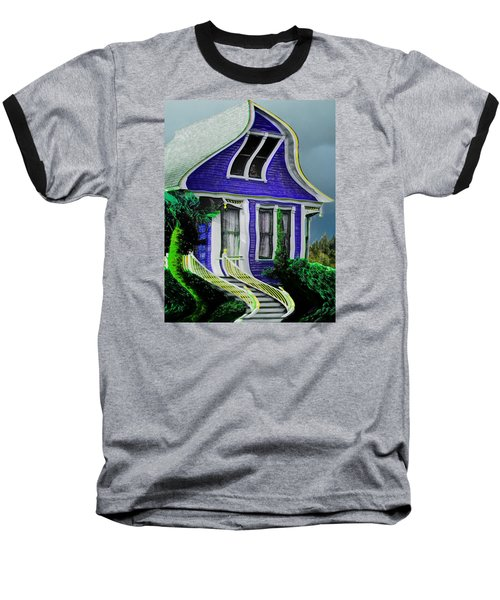 Curvy House Baseball T-Shirt