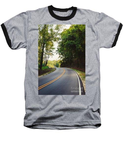 Curvy Road Baseball T-Shirt