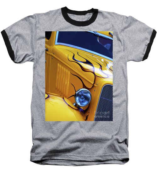 Custom 1934  Ford Artwork Baseball T-Shirt by Stephen Melia