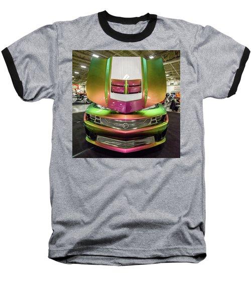 Baseball T-Shirt featuring the photograph Custom Camaro by Randy Scherkenbach