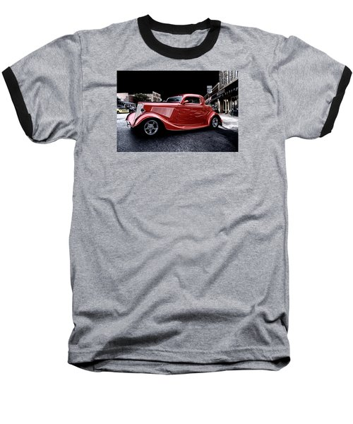 Custom Car On Street Baseball T-Shirt
