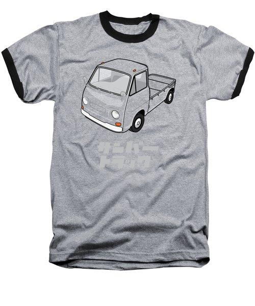 Custom Color Subaru Sambar Truck Baseball T-Shirt