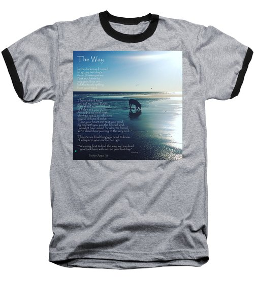 Custom Paw Print Franklin Angus Baseball T-Shirt