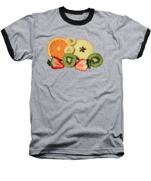 Cut Fruit Baseball T-Shirt