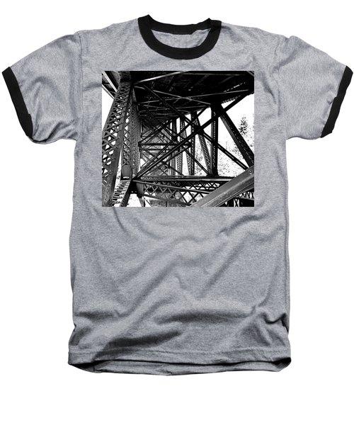 Cut River Bridge Baseball T-Shirt