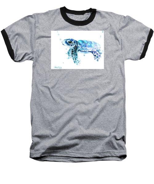Cute Baby Turtle Baseball T-Shirt