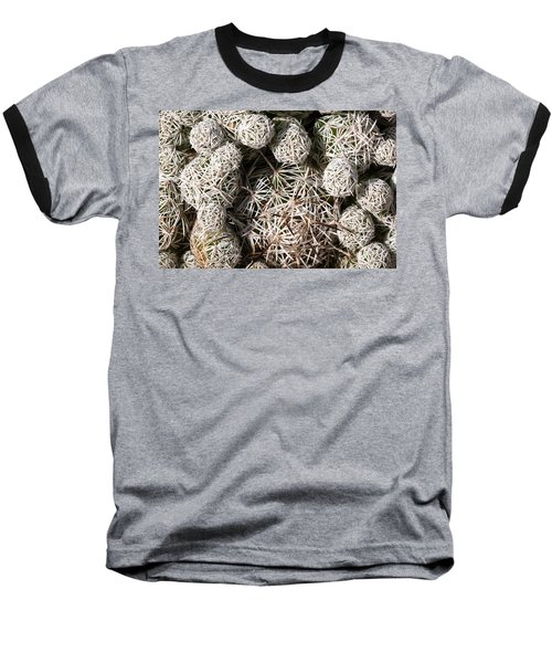Baseball T-Shirt featuring the photograph Cute Cactus Ball by Catherine Lau