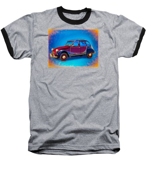Cute Little Car Baseball T-Shirt