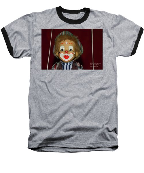 Baseball T-Shirt featuring the photograph Cute Little Clown By Kaye Menner by Kaye Menner