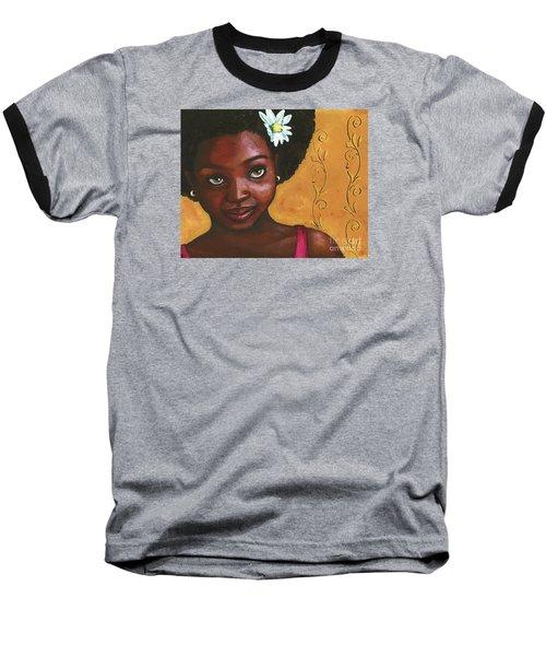 Cutie Pie Baseball T-Shirt by Alga Washington