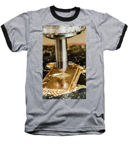 Cutting Brass Baseball T-Shirt by Bruce Carpenter