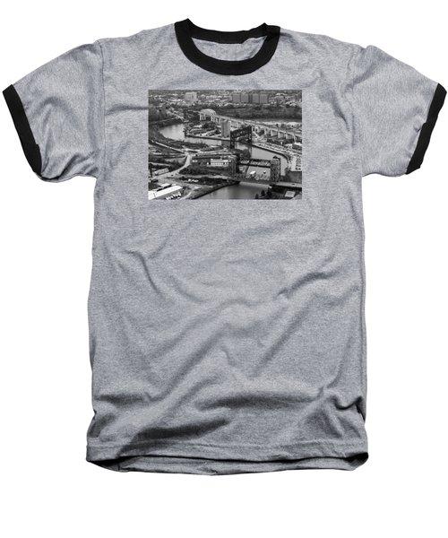 Cuyahoga River Baseball T-Shirt