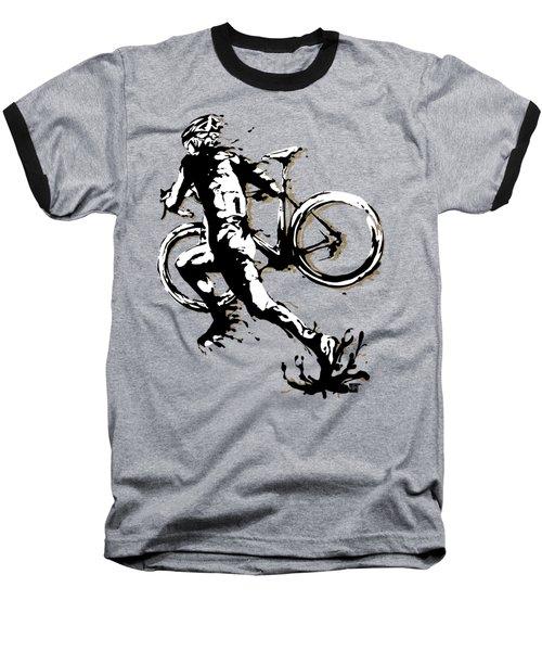 Cyclocross Poster1 Baseball T-Shirt
