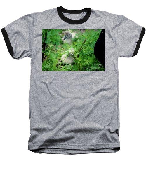 Cygnets V Baseball T-Shirt by Cassandra Buckley