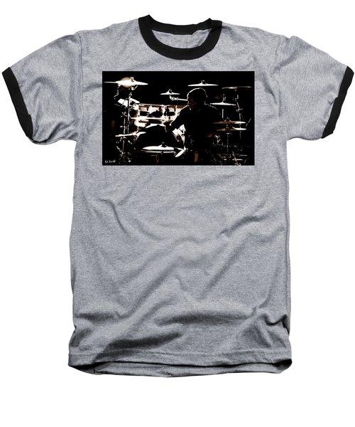 Cymbal-ized Baseball T-Shirt