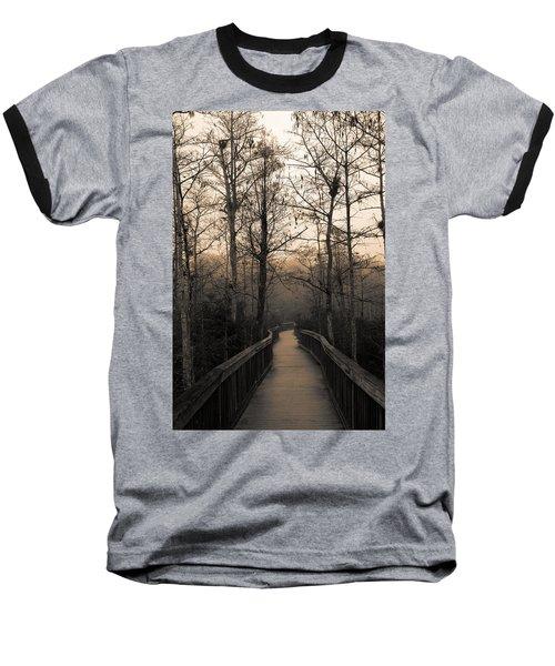 Cypress Boardwalk Baseball T-Shirt