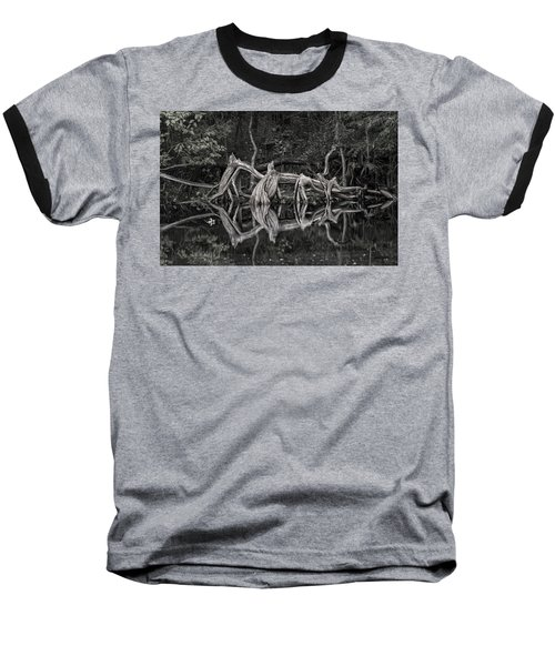 Baseball T-Shirt featuring the photograph Cypress Design by Steven Sparks