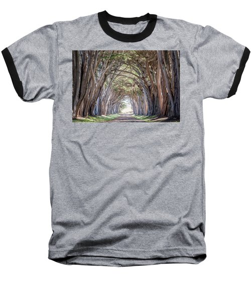 Baseball T-Shirt featuring the photograph Cypress Embrace by Everet Regal