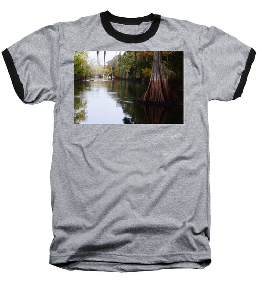 Cypress High Water Mark Baseball T-Shirt by Warren Thompson