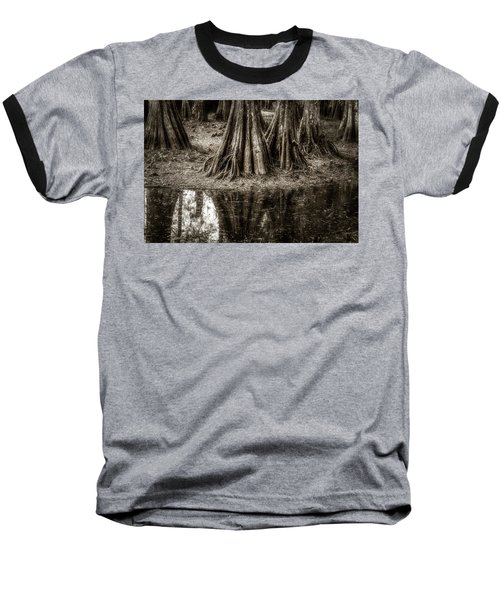 Cypress Island Baseball T-Shirt by Andy Crawford