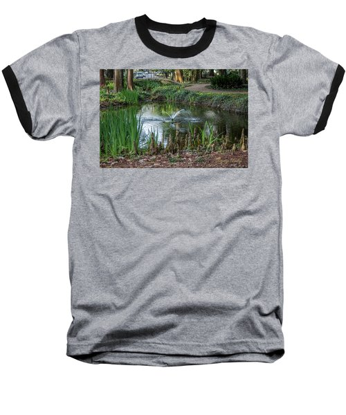 Cypress Knees 02 Baseball T-Shirt by Gregory Daley  PPSA