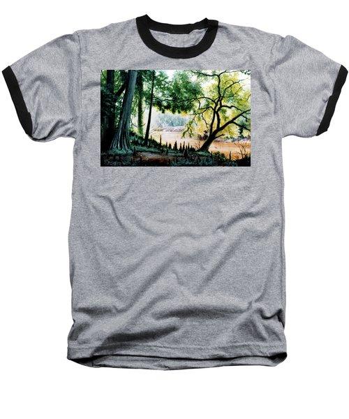 Cypress Knees Baseball T-Shirt