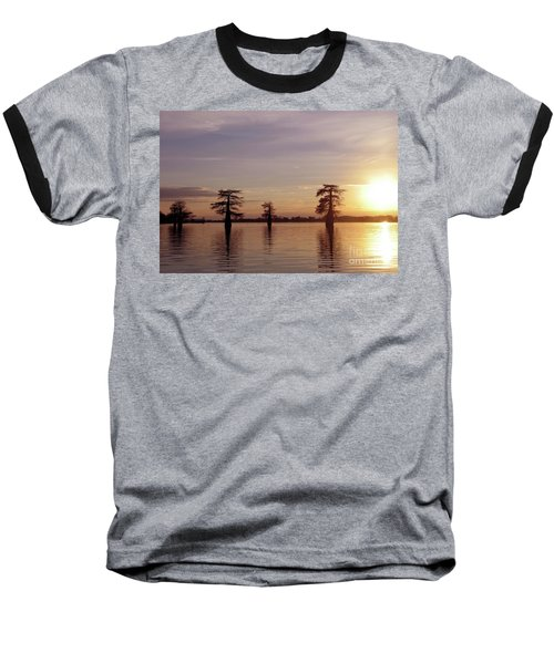 Cypress Sunset Baseball T-Shirt