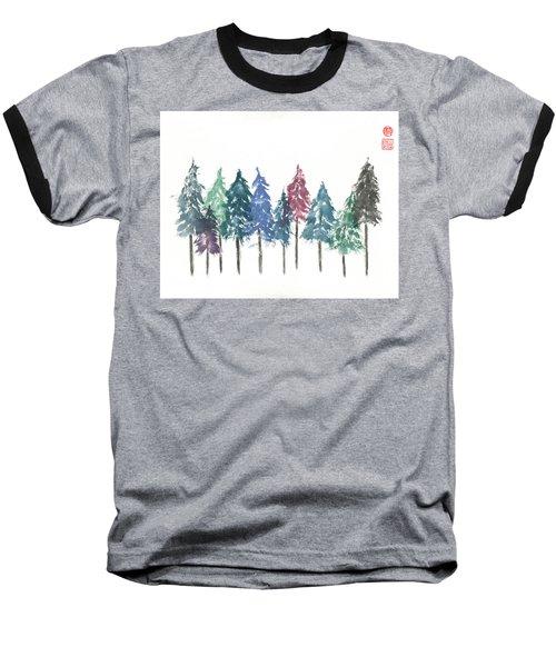 Cypress Trees Baseball T-Shirt