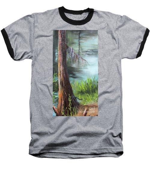 Cypress Up Close Baseball T-Shirt