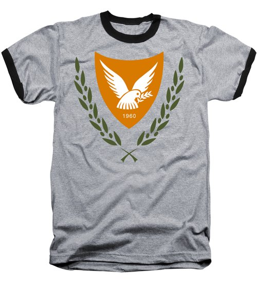 Cyprus Coat Of Arms Baseball T-Shirt by Movie Poster Prints