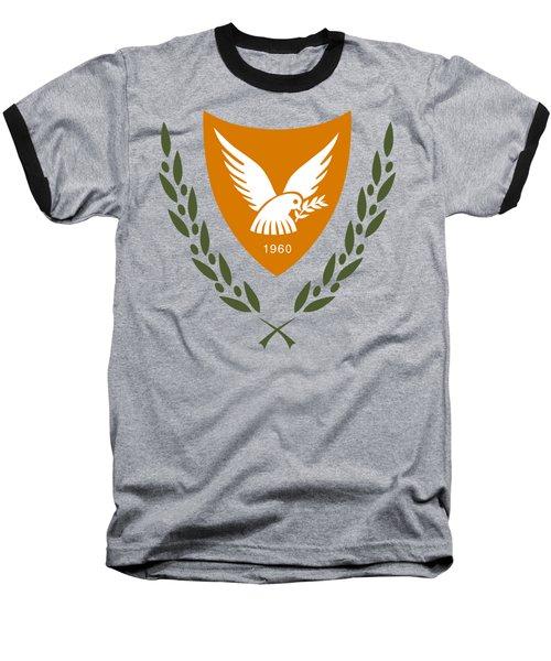 Cyprus Coat Of Arms Baseball T-Shirt