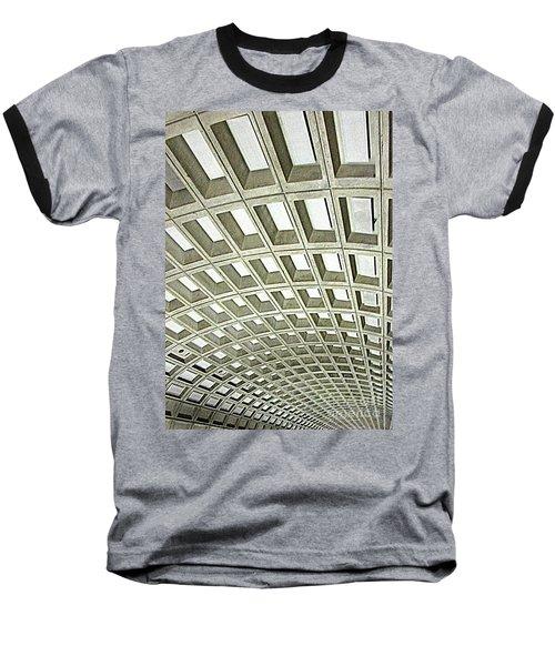 D C Metro 2 Baseball T-Shirt by Randall Weidner
