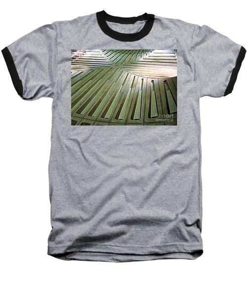 D C Metro 3 Baseball T-Shirt by Randall Weidner