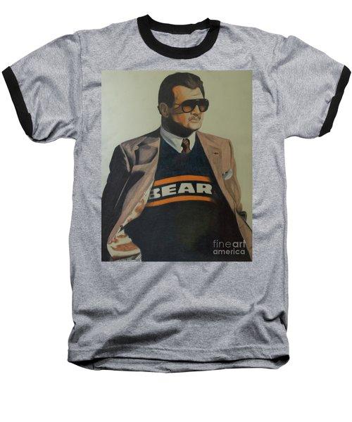 Da Coach Ditka Baseball T-Shirt by Melissa Goodrich