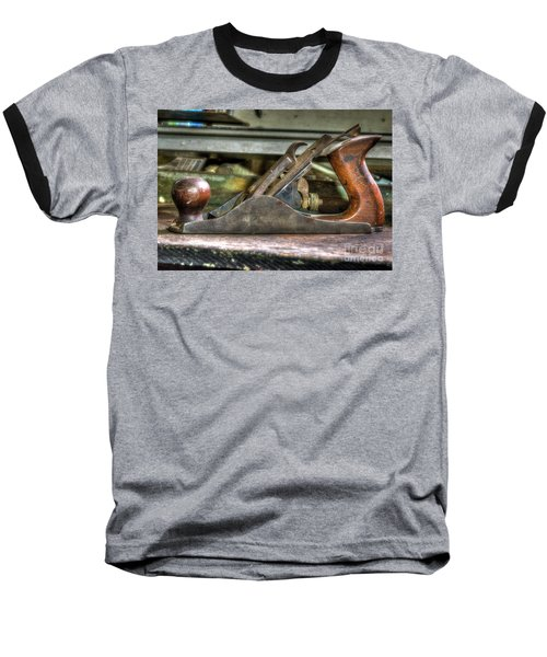 Baseball T-Shirt featuring the photograph Da Plane by Douglas Stucky