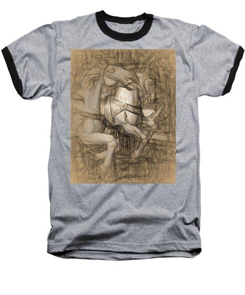 Da Vinci Carousel Baseball T-Shirt