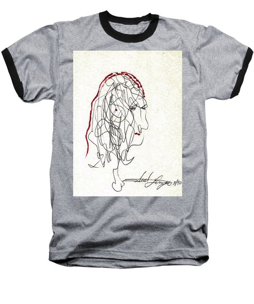 Da Vinci Drawing Baseball T-Shirt
