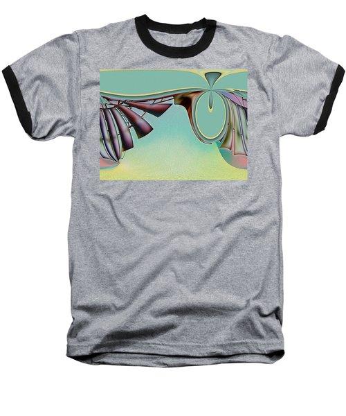 Da Vinci's Nudge Baseball T-Shirt