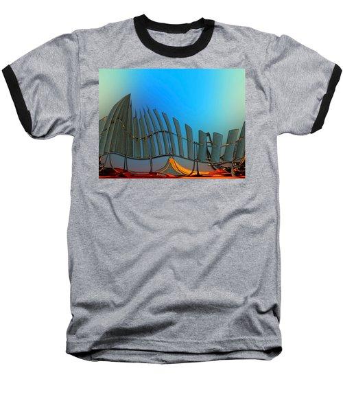 Da Vinci's Outpost Baseball T-Shirt