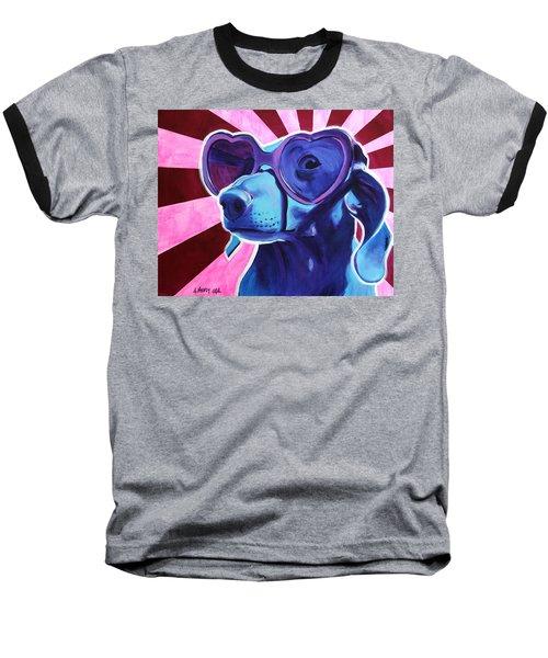 Dachshund - Puppy Love Baseball T-Shirt