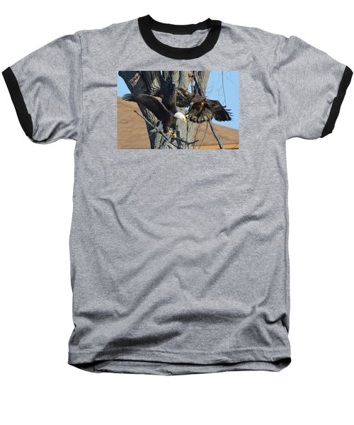 Baseball T-Shirt featuring the photograph Dad And Junior With Fish by Coby Cooper