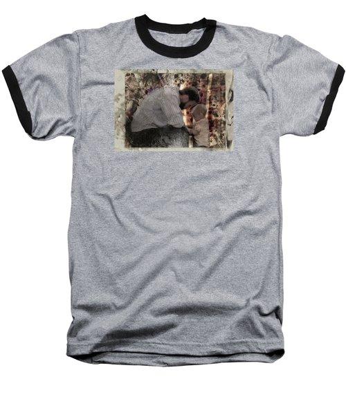 Daddys Hands Baseball T-Shirt