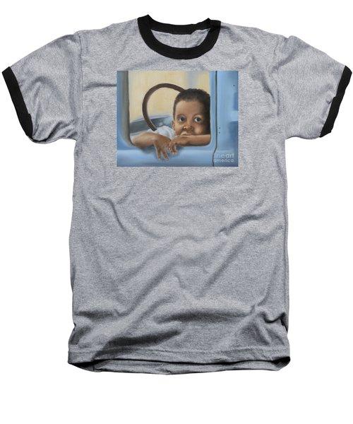 Daddy's Truck Baseball T-Shirt by Annemeet Hasidi- van der Leij
