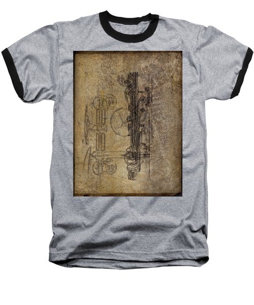 Dads Clarinet Baseball T-Shirt