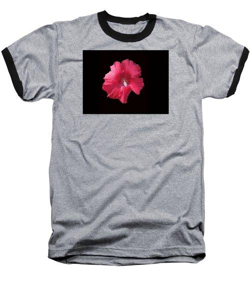 Dads Hibiscus Baseball T-Shirt