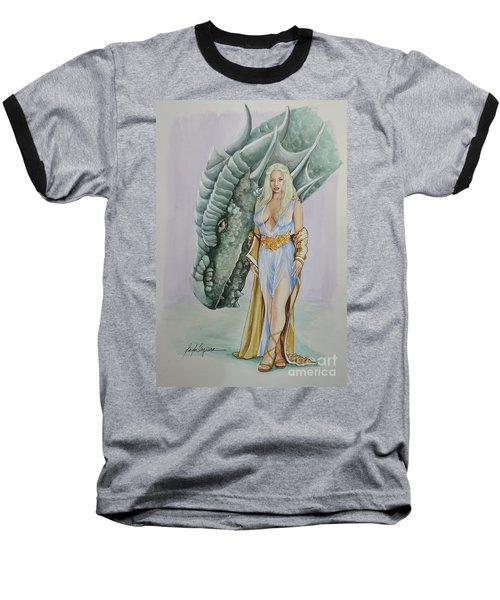 Daenerys Targaryen - Game Of Thrones Baseball T-Shirt