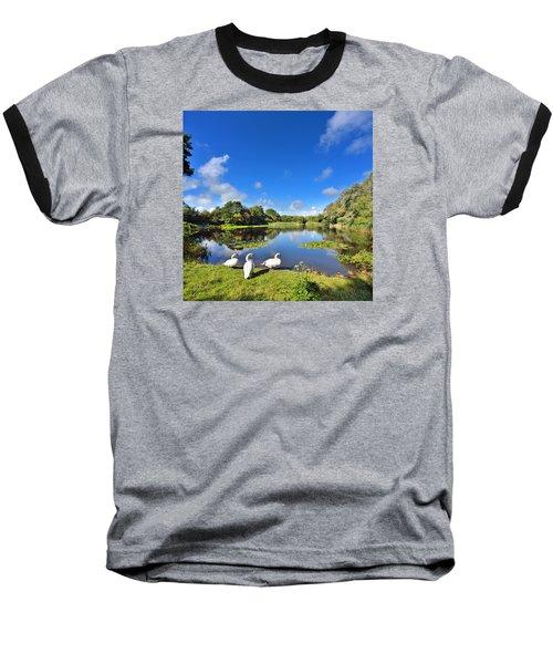 Dafen Pond Baseball T-Shirt