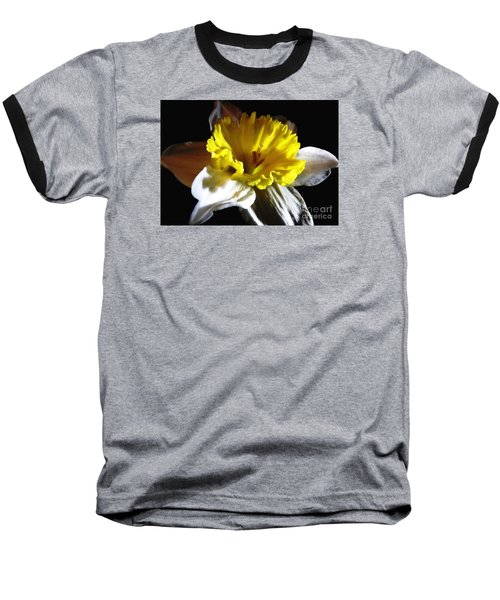Baseball T-Shirt featuring the photograph Daffodil 2 by Rose Santuci-Sofranko