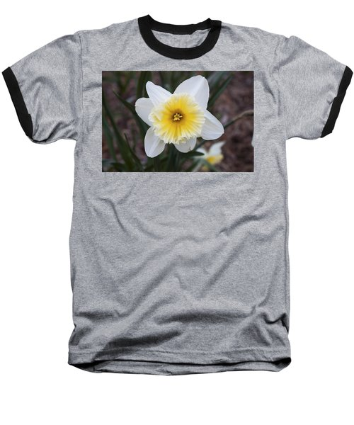 Baseball T-Shirt featuring the photograph Daffodil At Black Creek by Jeff Severson
